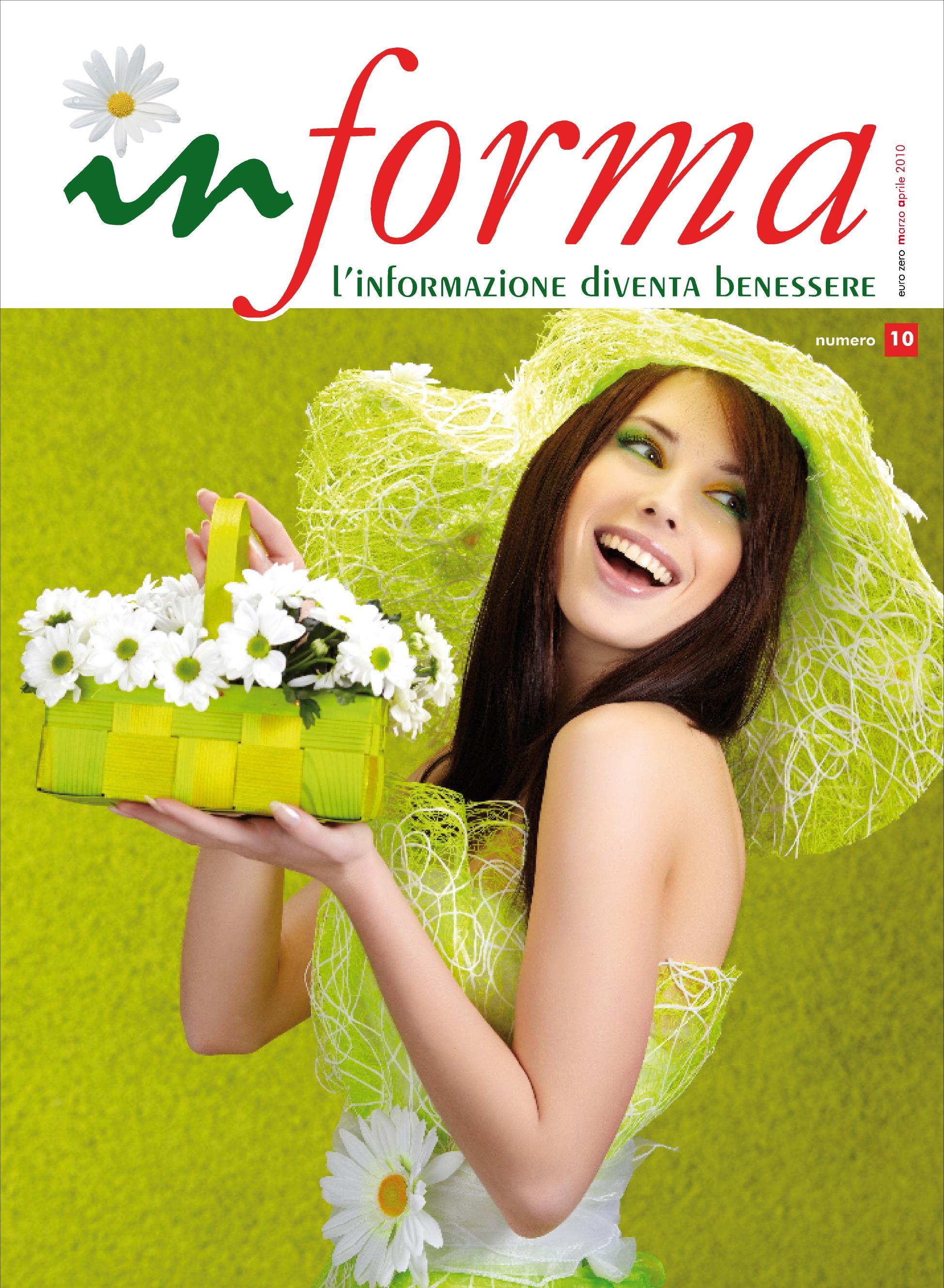 La copertina rappresenta  una ragazza sorridente dai capelli scuri con un grande cappello su uno sfondo verde che porta in mano un cesto con delle margherita