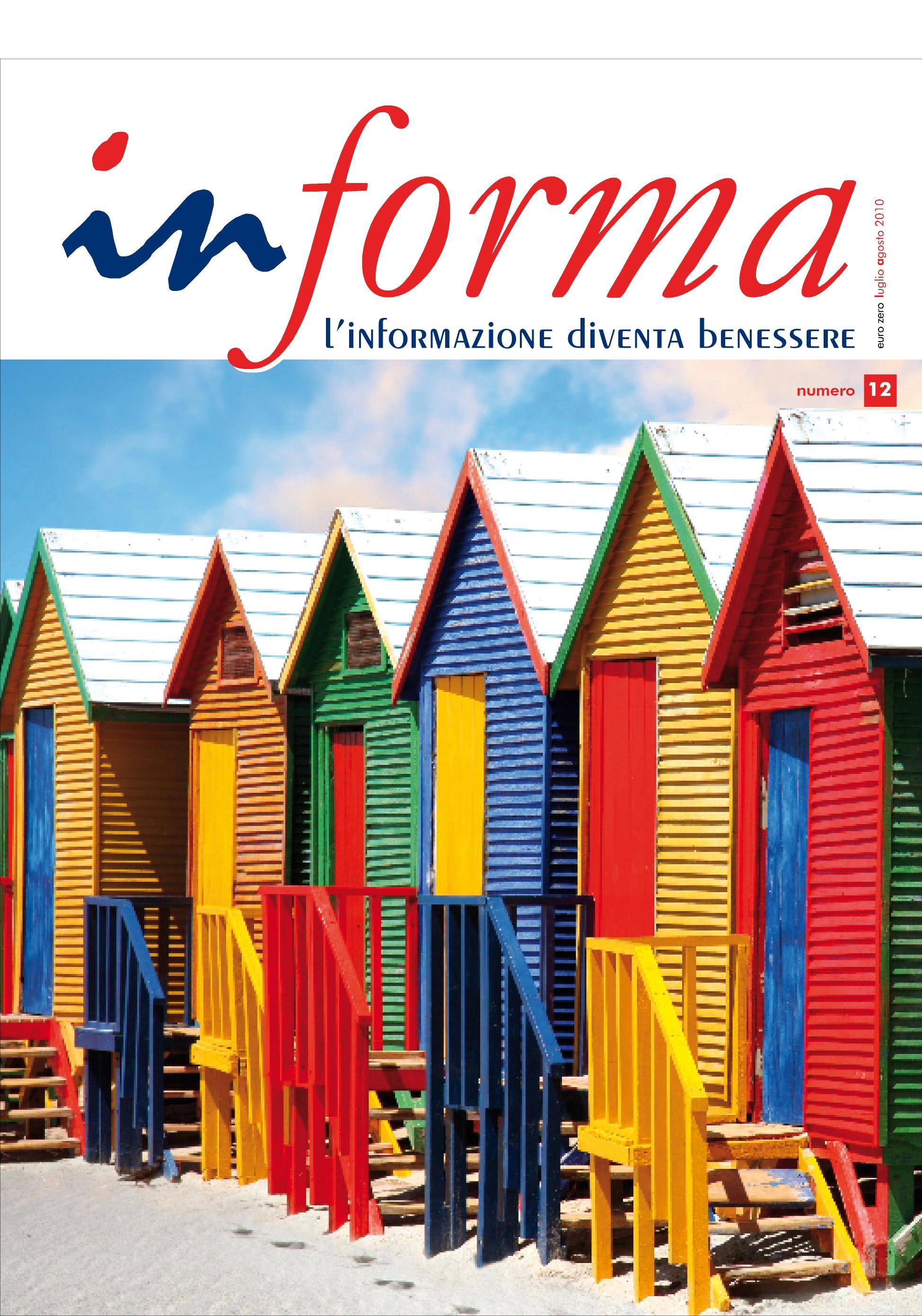 La copertina rappresenta una serie di case colorate