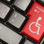 icona che rappressenta una tastiera ocn il simbolo della disabilita'